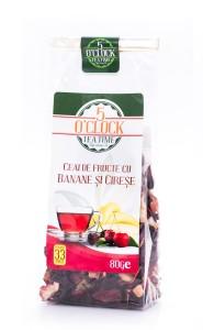 5 O'Clock Tea Ceai de Fructe cu Banane si Cirese