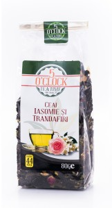 5 O'Clock Tea Ceai cu Iasomie si Trandafiri