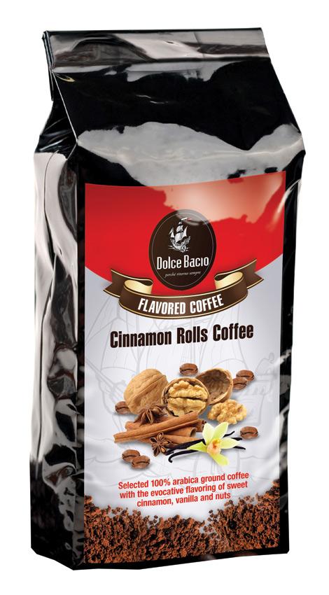 Cafea cu gust de scortisoara, vanilie si nuci